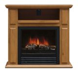 Trygve Electric Fireplace - Oak
