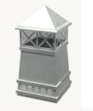European Knight Square Freedom Gray Pot