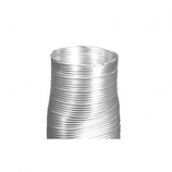 """Stainless Steel Round-to-Oval Flex Connector - 8 x 57"""""""