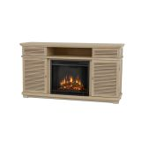 Cavallo Entertainment Unit with Electric Fireplace - Weathered White