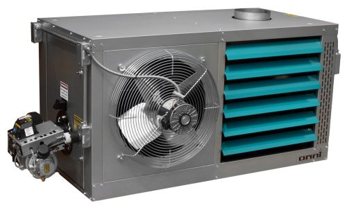 Omni Bi-Directional Wall Heater 350K BTU Waste Oil Fired Furnace