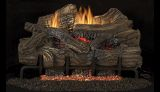 "Superior 24"" Smokey Mountain VF Gas Log Set w/BGE2436 Elec. Burner- NG"