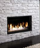 "36"" Zero Clearance Clean View Direct Vent Millivolt Fireplace - NG"