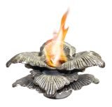Anywhere Fireplace 90225 Chatsworth Indoor/Outdoor Fireplace - Silver
