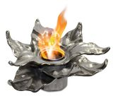 Anywhere Fireplace 90226 Heathcote Indoor/Outdoor Fireplace - Silver
