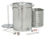 Bayou Classic Stainless Steel Turkey Fryer Pot