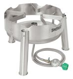 Bayou Classic Stainless Steel Jet Propane Burner Cooker
