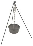 Bayou Classic Dutch Oven Tripod Stand with Chain