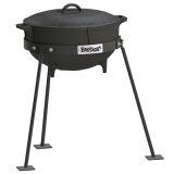 5 Gallon Jambalaya Pot w/ cast iron lid & tri-pod