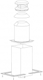 Shasta Vent 8A-TCK Thru-The-Ceiling Kit