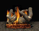 "30"" Bristol Split Logs with Double Log Switch Pilot kit Burner Tube - NG"