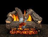 """18"""" Aspen Whisper Logs with Double Log Switch Pilot kit Burner Tube - NG"""