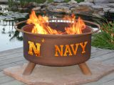 Patina F474 United States Naval Academy Fire Pit