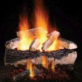 """18"""" Magnificent Split Oak Logs w/Elec. Variable Ignition Burner - NG"""