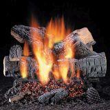 """18"""" Windsor Premium Oak Logs w/Elec. Variable Ignition Burner - NG"""