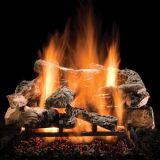 "24"" Rustic Timbers Logs w/Elec. Variable On/Off Ignition Burner - NG"
