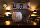 Pumpkin Luminary (SQUATTY WHITE)
