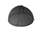"46"" Welded High Grade Carbon Steel Pivot Round Fire Pit Safety Screen"
