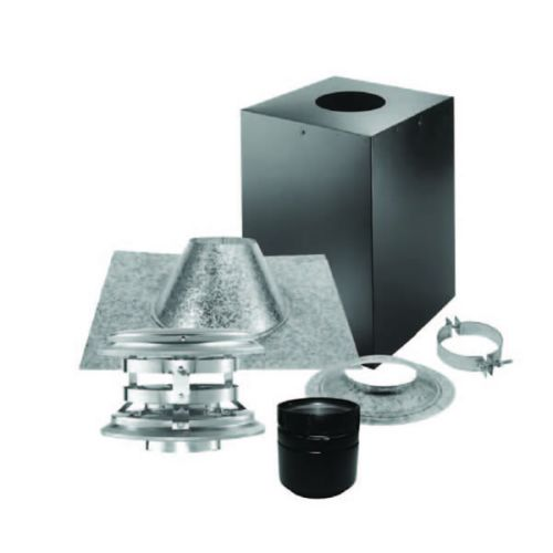 "PelletVent Pro 3"" Vertical Kit for Cathedral Ceilings"