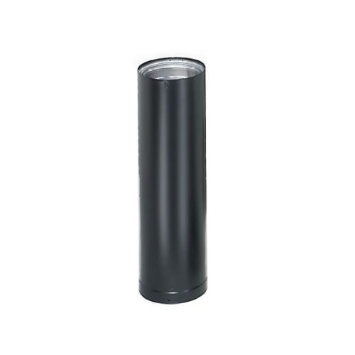 "DuraVent DVL 6"" Double-Wall Black Pipe 24"" Length"