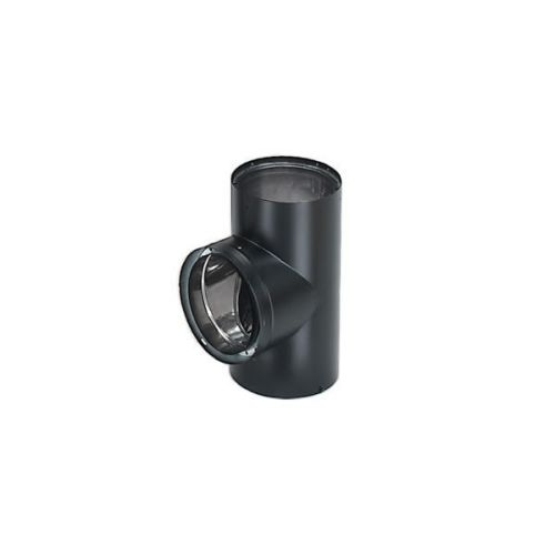 "DuraVent DVL 8"" Double-Wall Tee with Cover"