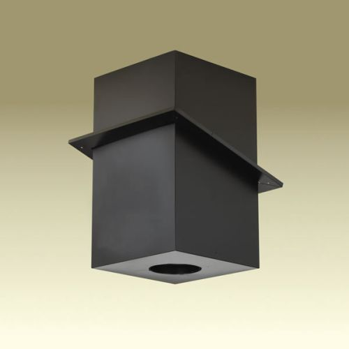 "DuraVent 6"" DuraPlus Cathedral Ceiling Support Painted Black"