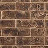 """Majestic 42"""" Traditional Brick Interior Panels in Tavern Brown"""