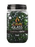 Bond 67969 Round Lava Glass in Emerald City