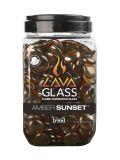 Bond 67970 Round Lava Glass in Amber Sunset