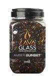 Bond 67973 Mini Lava Glass in Amber Sunset