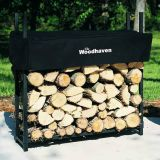 Woodhaven 36WRC-CAMO 1/8 Cord Firewood Rack, 3 ft x 3 ft x 10 in