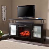 Cabrini Infrared Electric Media Fireplace - Black