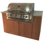 Sequoia Series Outdoor Grill Kitchen with Cabinets - NG
