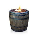 Jaytrends 9715 Wine Barrel Fire Pit