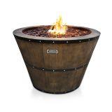 Jaytrends 9716 Wine Barrel Fire Pit