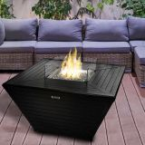 Jaytrends 9760 Aluminum Fire Table