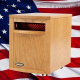 Original SUNHEAT USA1500-M Infrared Heater - Cherry