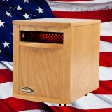 Original SUNHEAT USA1500-M Infrared Heater - Oak