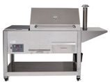Cookshack PG1000 Pellet Grill, Electronic Control with Insulated Hood