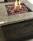 Deeco DM-GFP-009A-LR Stone Table Gas Fire Pit