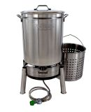 Bayou Classic KDS-160 62-QT Stainless Boil/Steam Kit