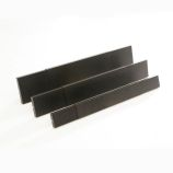 "Fireplace SmokeGuard - Black - 8"" High - Fits 28 1/2"" to 48"" Wide"