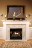 Tahoe Clean Face Contemporary DV Fireplace DVCC32BP72N - Natural