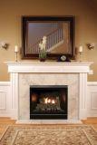 Tahoe Clean Face Contemporary Fireplace DVCC32BP72P - Liquid Propane