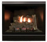 """Tahoe Clean Face Direct Vent IPC Deluxe 36"""" LP Fireplace with Blower"""