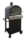 AZ Patio PSL-SPOC Hiland Propane Pizza Oven with Stone