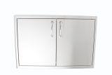 Blaze BLZ-DRY-STG Stainless Steel Enclosed Dry Storage Cabinet w/Shelf
