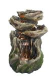 Alpine WIN1118 Rainforest 4-Tiered Fountain with LED Lights