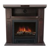 Chocolate TRYGVE Swivel Top Electric Fireplace