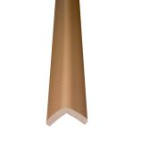 """Metal Backed 24"""" Hearth Guard Mid Extension, Brown"""